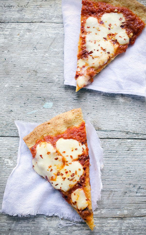 This grain-free paleo pizza crust uses almond meal and arrowroot in place of traditional flour. You'll never miss the wheat!