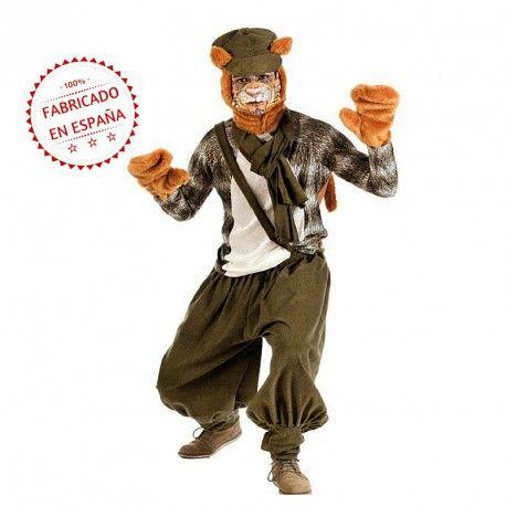 Disfraz de Gato Callejero Adulto #Animales #Hombre