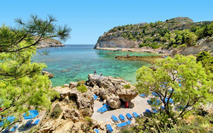 Rodos on helmi Kreikan saarien joukossa. Rodoksella olet aina lähellä upeita uimarantoja ja kauniita maisemia. www.apollomatkat.fi #Rodos #Kreikka