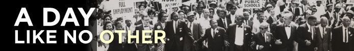 This exhibition transports visitors to the momentous day of the March on Washington for Jobs and Freedom, August 28, 1963—a day that transformed our nation—when 250,000 people from all walks of life participated in the largest non-violent demonstration for civil rights that Americans had ever witnessed.