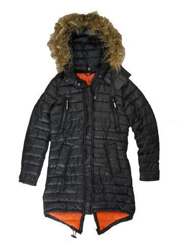 Superdry Womens Super Fuji Coat - Black – Moyheeland Traders   http://moyheelandtraders.com/products/superdry-womens-super-fuji-coat-black
