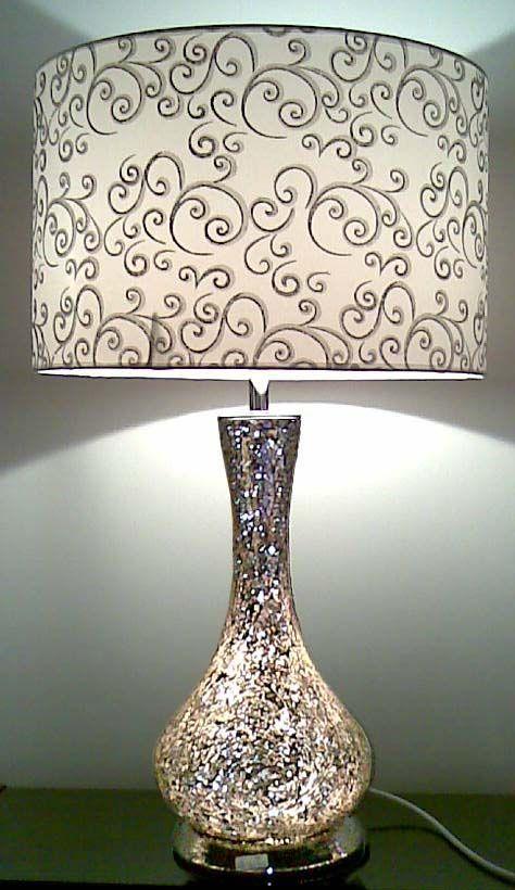 Top 25+ best Glass lamps ideas on Pinterest Stained glass lamps - glass table lamps for living room