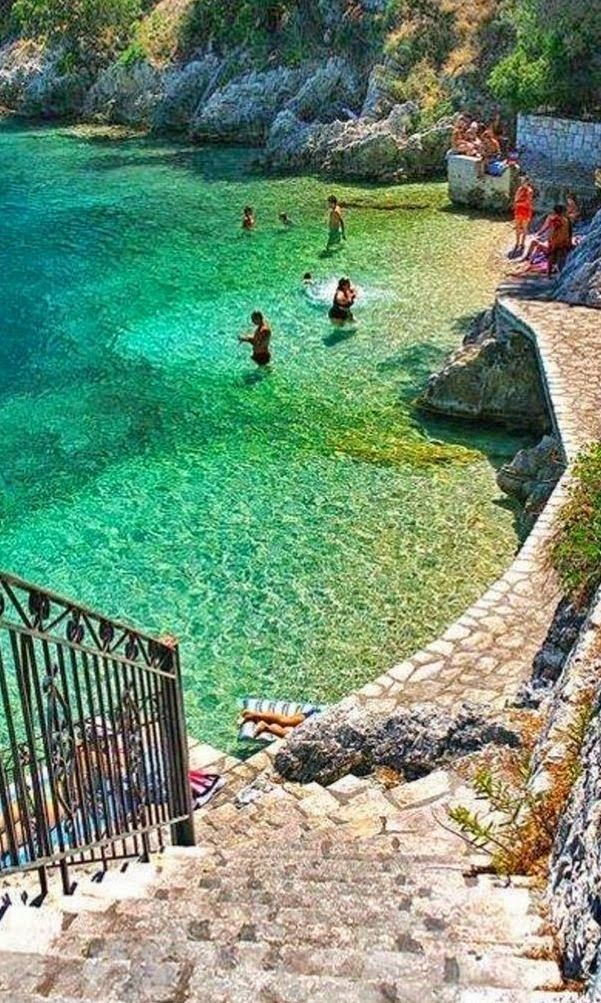 Ithaca Island is one of the Ionian Islands, Greece