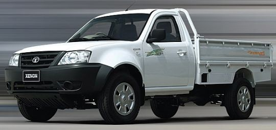 Tata motors has launched the new Xenon pickup truck at a price of INR 5.44 lakhs (ex-showroom Thane). The Tata Xenon pickup truck will be competing with Mahindra's Genio.