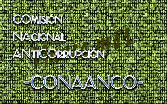 A igual que la Comisión Nacional sobre la Desaparición de Personas -CONADEP-, que fue una comisión asesora con peso de ley creada a principios del retorno de la democracia en Argentina, se hace necesario hoy en día la Comisión Nacional Anticorrupción -CONAANCO-, dado que la nación está sumida en un sinnúmero de hechos de cohechos institucionalizados, cuya consecuencia es en gravedad mayor que la investigada por la CONADEP... Ver más...