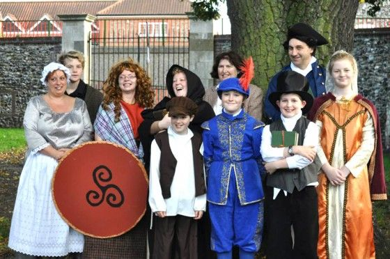 Thetford Historical Character Walk Ready to Hit the Town