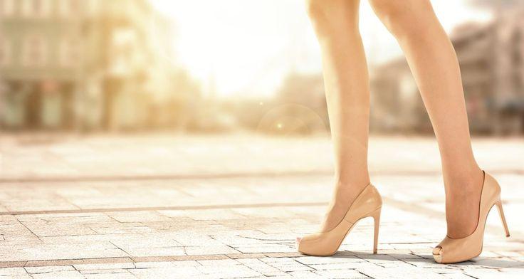 Το μυστικό για να μην πονούν τα πόδια σου όταν φοράς τακούνια