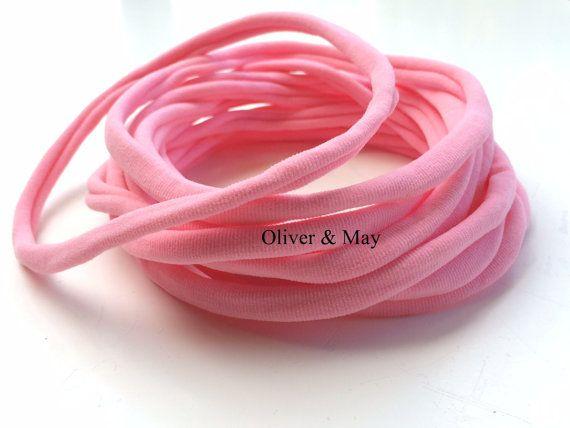 10 Pieces Wholesale Nylon Headbands Baby Headbands by OliverAndMay
