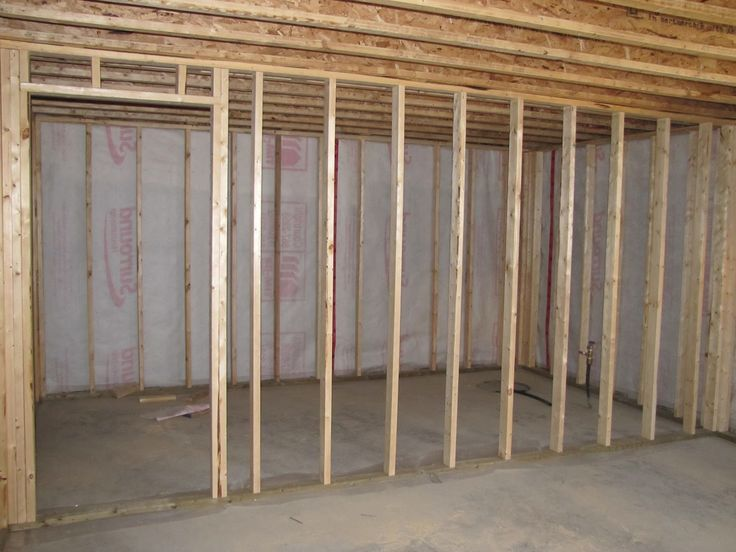 17 best ideas about framing basement walls on pinterest media storage hidden storage and for Framing interior basement walls