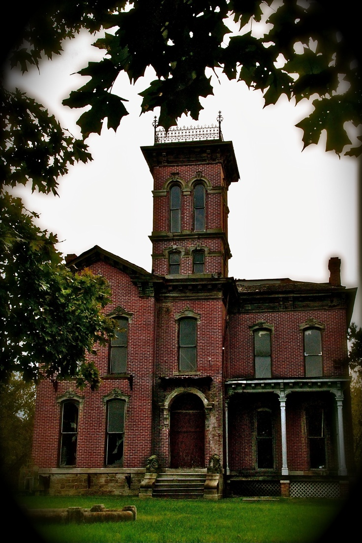 Kansas City, Kansas - the Sauer Castle was built in 1871 by Anton Sauer along the Shawnee Indian Trail that was part of the old Santa Fe Trail. Five generations of the Sauer family lived in the house until the death of Eve Maria Sauer in 1955. It is said to be haunted.
