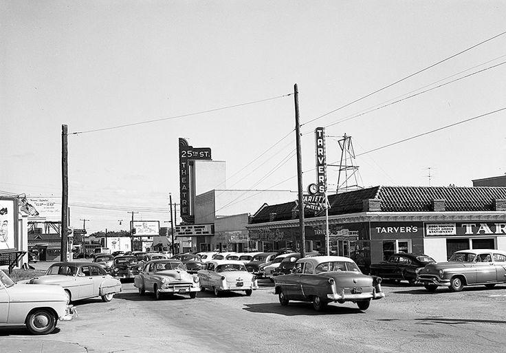 25th St Theater Waco TX 1950s Wacotown Waco TX is