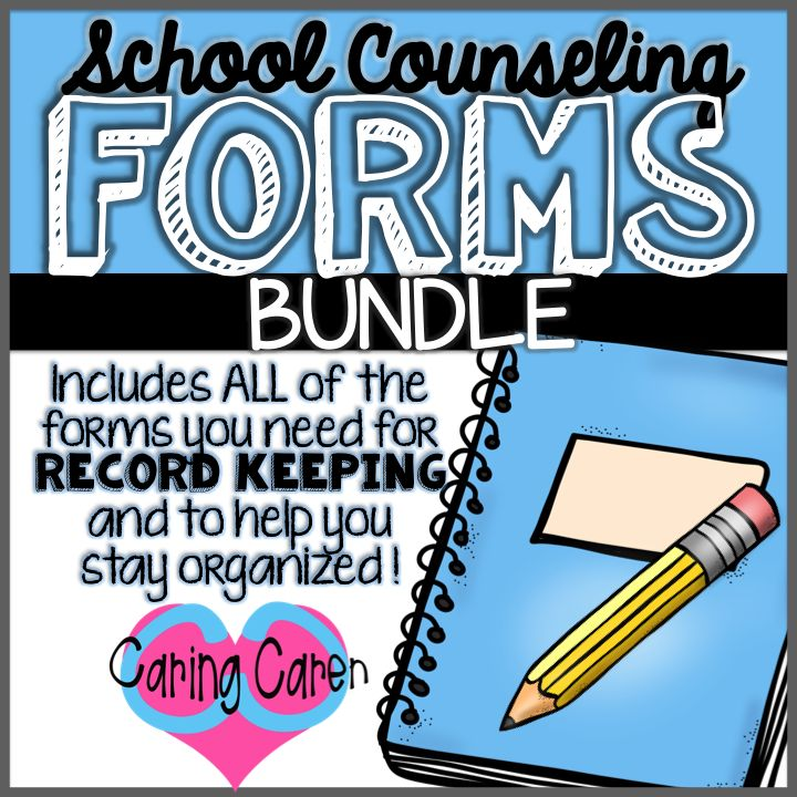 """TPT CaringCaren TeachersPayTeachers School Counseling Forms BUNDLE This bundle contains the following forms: - Individual Counseling Log - Parent/Guardian Informed Consent Letter - Checklist of Students to See - List of Students Seen - National Awareness Days/Weeks Planning Sheet - Teacher/Staff Referral for School Counselor - Student Request Form for School Counselor - Parent Contact Log - Pass to see the School Counselor - """"Have you Filled a Bucket Today?"""" Posters (3 color options)…"""