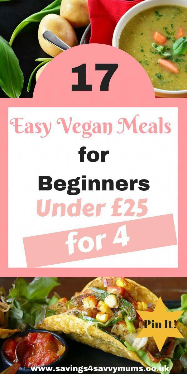 17 Budget Friendly And Easy Vegan Meals For Beginners Here S A Whole Week S Meal Plan And Vegan Grocery List On A Budget Coming In At Under 25 For The Whole