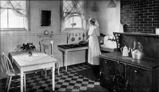Kitchen, 1910.
