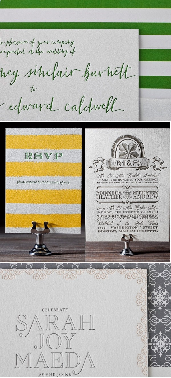 reply to wedding invitation m%0A I love the green and yellow stripes and funky green handwriting