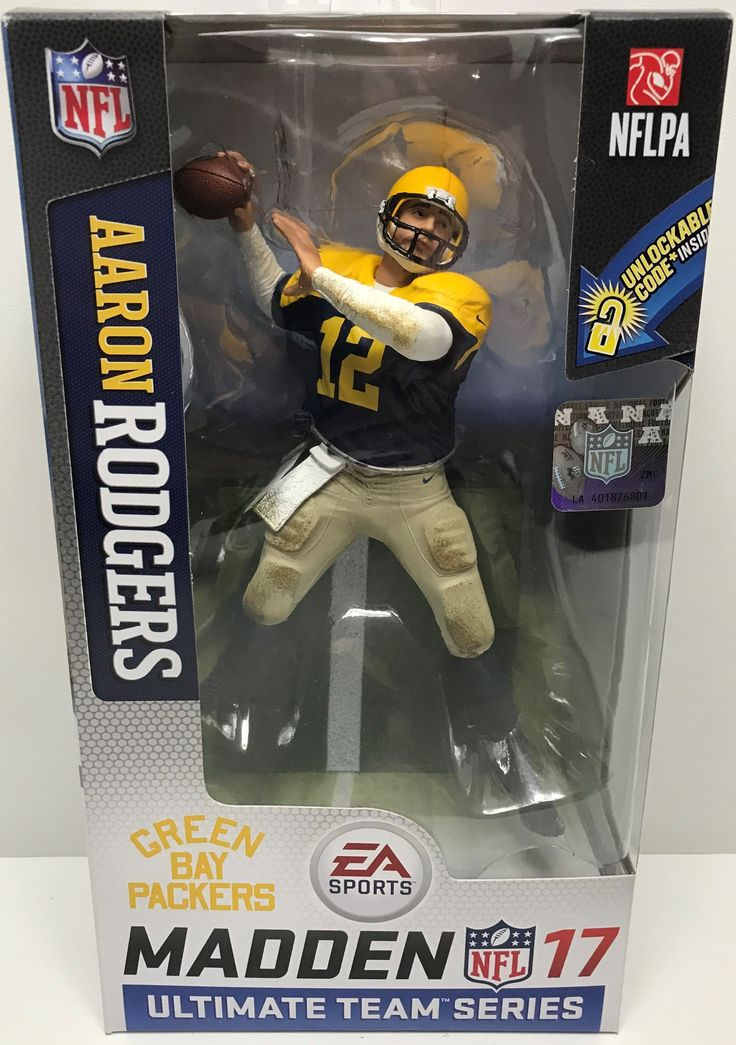 TAS039358 - 2016 McFarlane Toys Madden 17 NFL Action Figure - Aaron Rodgers Packers