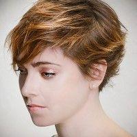 shaggy pixie haircut
