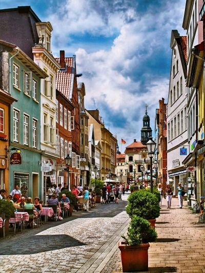 L�neburg (Lower Saxony) Germany - idea for a painting