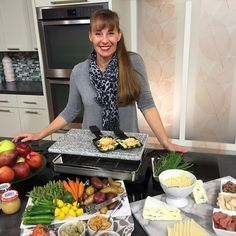 """3 RACLETTE Classic Dinner and Dessert Party Menus """"Entertainment Dining"""" More"""