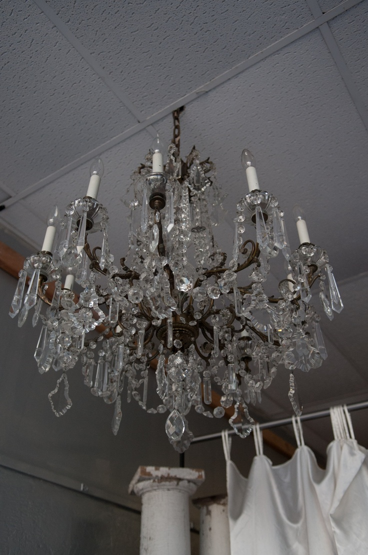 This Antique Chandelier Was In A Big Hotel Downtown Kansas City. We Have It  For