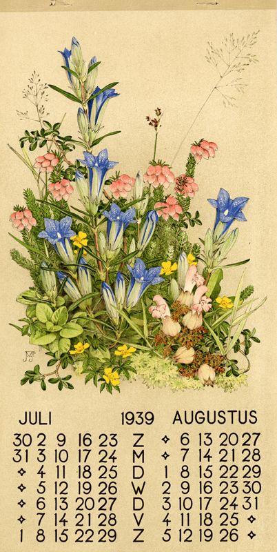 1939 ¤ Juli Augustus 1 calendar, 6 leaves : col. ill. ; 39 x 20 cm. Créateur: Voerman, Jan, Jr. ( illustrator ) Sissingh, C.H., Jr. Editeur: N.V. de Nieuwe Toonkamers