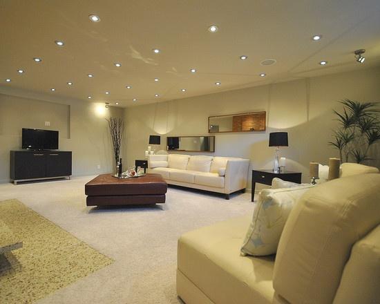 basement lighting design