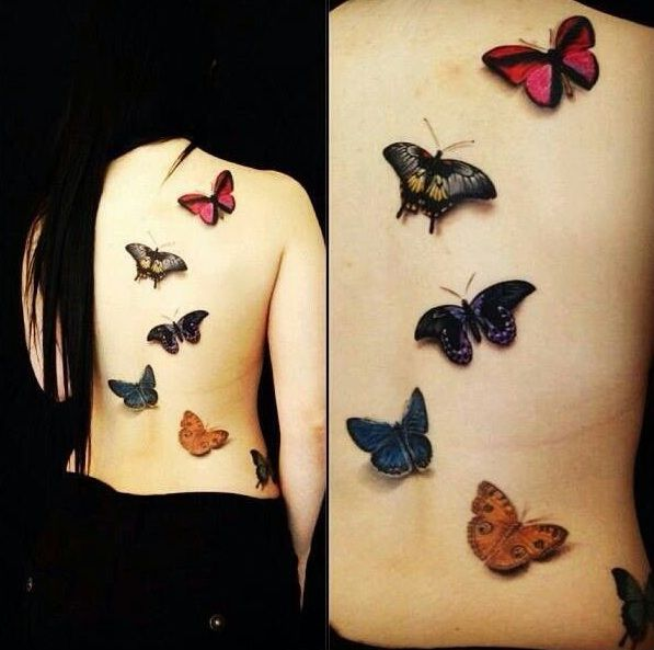 25 Great Ideas About Realistic Butterfly Tattoo On: Best 25+ Realistic Butterfly Tattoo Ideas On Pinterest