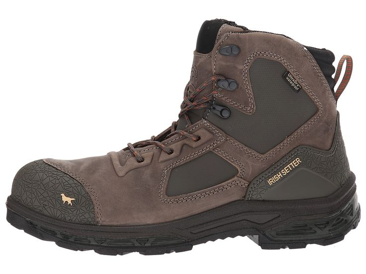 Irish Setter Kasota 83619 Men's Work Boots Brown