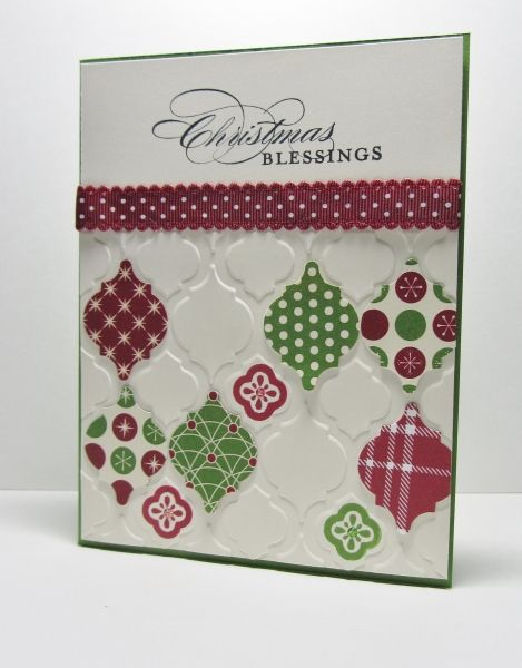 CAS Mosaic Madness Christmas #3 by nancy littrell - Cards and Paper Crafts at Splitcoaststampers