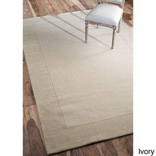 nuLOOM Handmade Marrakesh Border Wool Rug (7'6 x 9'6) | Overstock™ Shopping - Great Deals on Nuloom 7x9 - 10x14 Rugs