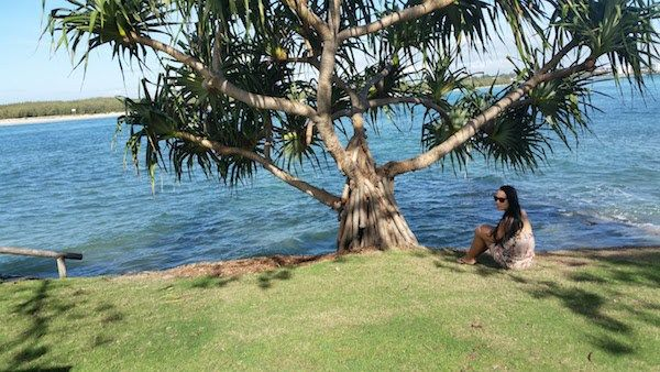 The simple things like sitting by the sea is the best. A relaxing spot I like to go is Caloundra, Queensland. What about you? #beachlife #travel #caloundra