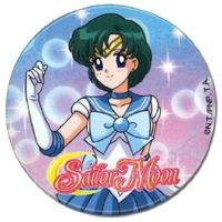 Sailor Mercury Badge.