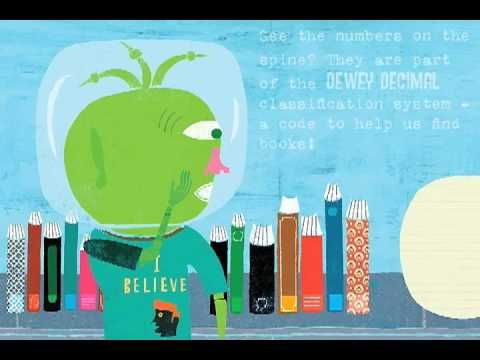 Cute video from Capstone...Bob the Alien discovers the Dewey Decimal System!