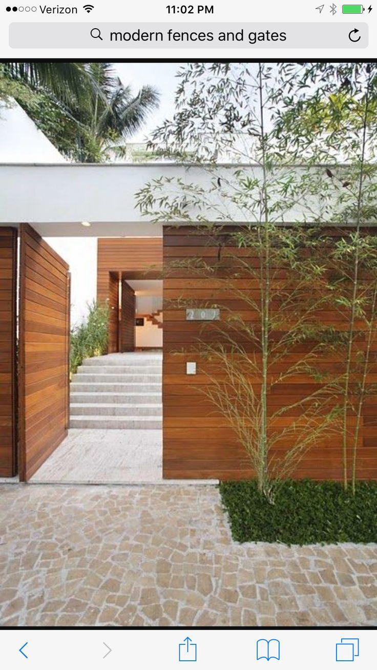 Glamorous bamboo fencing mode miami tropical landscape image ideas - Fence Ideas Garden