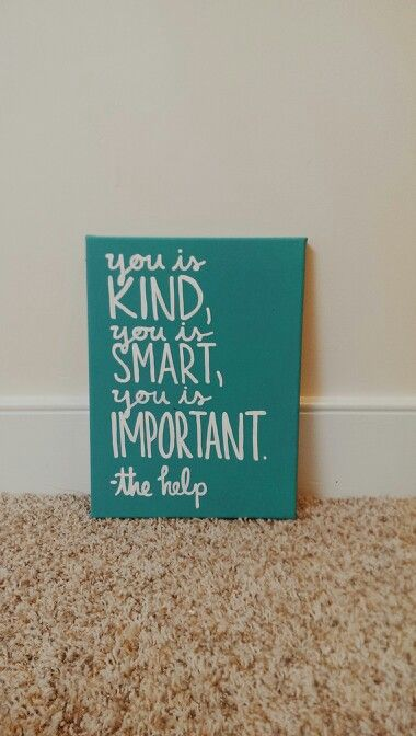 The Help Canvas Art
