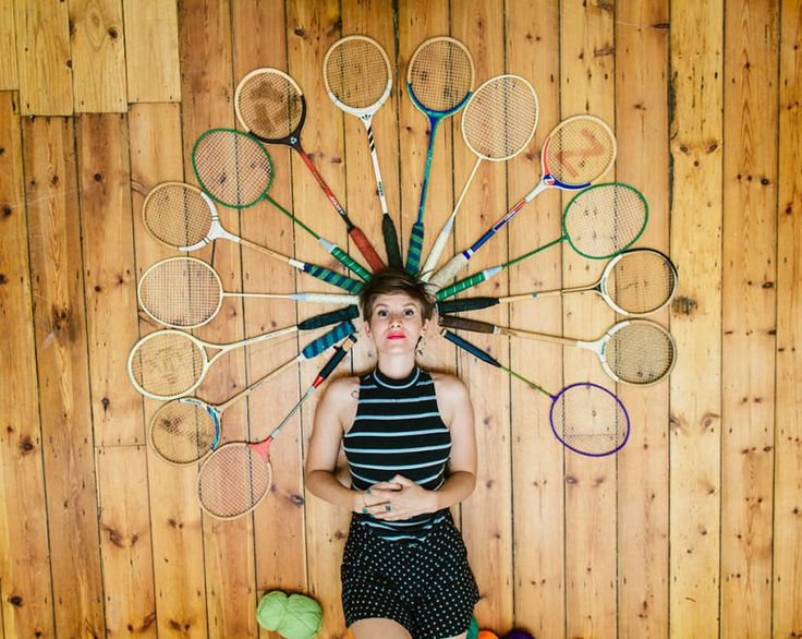 Featured Image for Beautifully embroidered tennis and badminton rackets! We speak to the artist behind