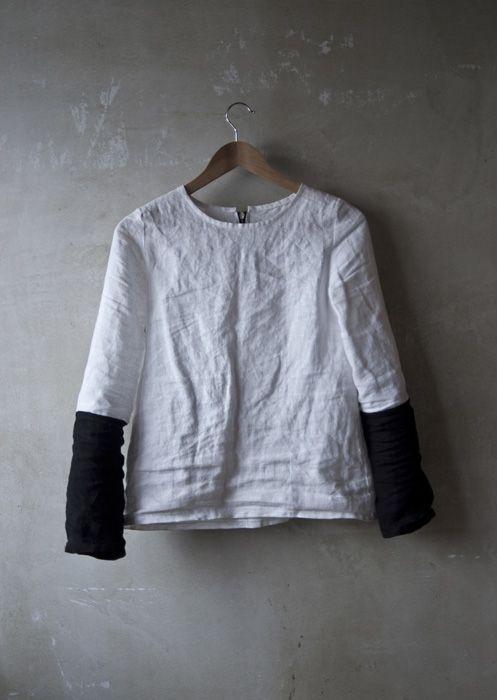 linen shirt by Marlen Karema
