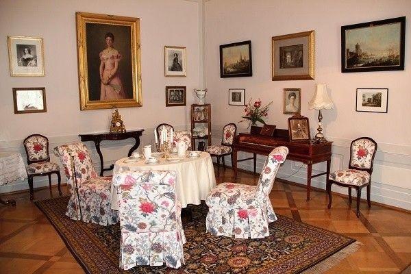 Ratibořice zámek-interiér