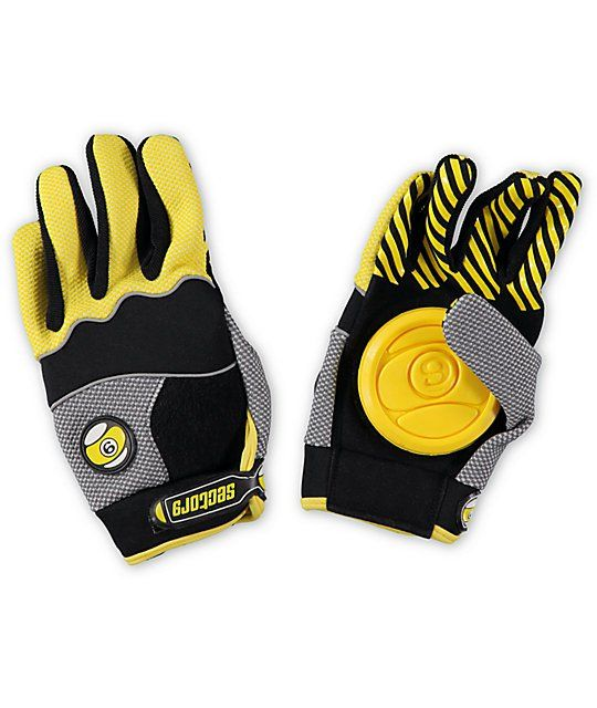 Sector Nine Apex slide gloves are for serious downhill riding and freestyle flat ground sliding. With a velcro slide pad on the palm allowing you to maintain balance and pull tight corners at the highest speeds or lay back for days while getting barreled