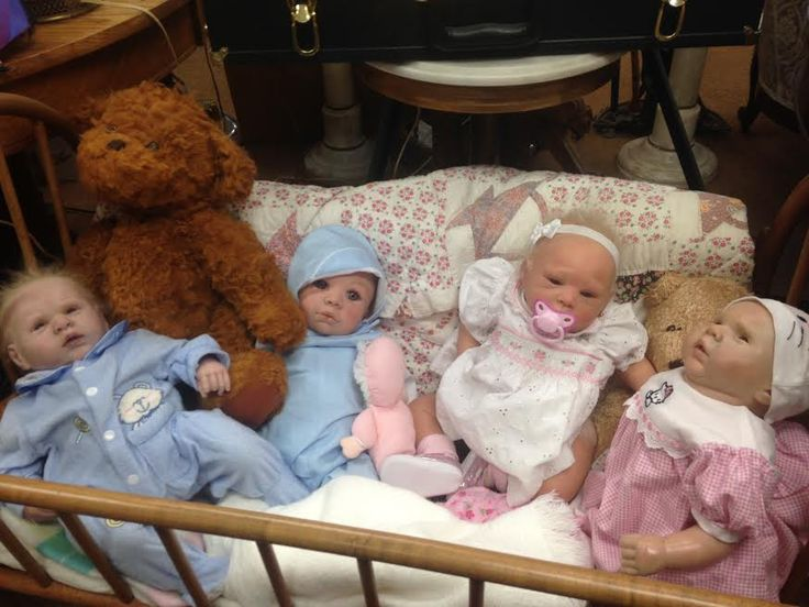 """This picture from my adventure in the creepy doll store reminded me of Freud's """"The Uncanny"""" and how the dolls look so real, but they're not. It was quite unsettling."""
