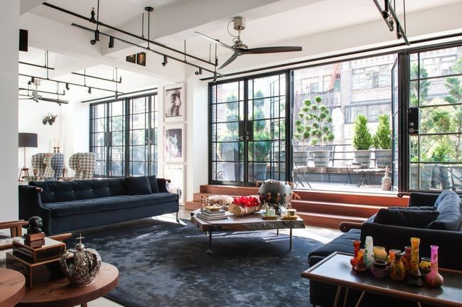 House tour: an industrial loft renovation in New York: The 47-square-metre…