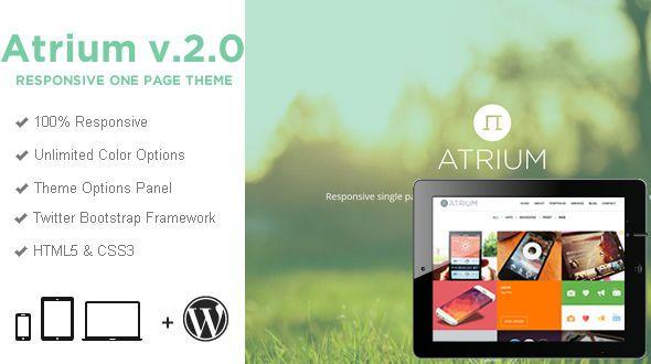 Atrium v2.1.0 – One Page Parallax WordPress Theme - http://www.freescriptz.co.uk/atrium-v2-1-0-one-page-parallax-wordpress-theme/ #Atrium, #Page, #Parallax, #Theme, #Wordpress