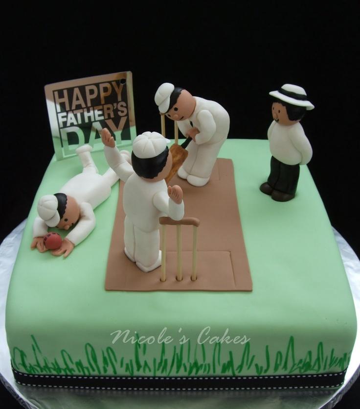 8 best Cricket cakes images on Pinterest Cricket cake Cake