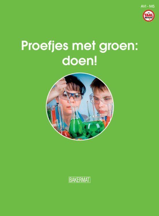 Proefjes met groen : doen! - 8 t/m 12 jaar. Wil jij graag als een echte wetenschapper proefjes doen? Pas op! Zorg ervoor dat je veilig te werk gaat. Want deze opdrachten zijn niet voor groentjes bedoeld. Wil je zelf bliksem maken? Wil je zelf graag tuinkers zaaien? Wil je zelf een draaikolk maken? Ga dan maar mee aan de slag! Wat weet je van groene energie? Heb jij zelf misschien groene vingers? Zoek mee uit wat goed is voor ons milieu. Groen? Doen!