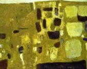 William Scott, Yellow Still Life, 1958, Oil on canvas, 101.6 × 127 cm / 40 x 50 in, Museu Colecção Berardo, Sintra, Lisbon