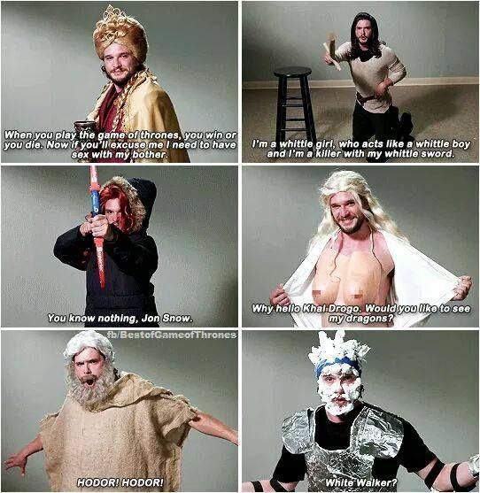 Kit Harington's Never-Before-Seen GoT Auditions !