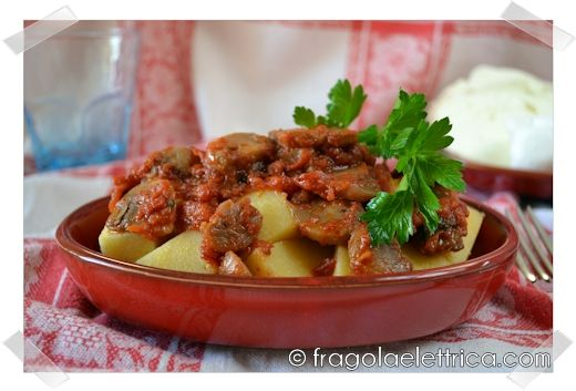 POLENTA CON I FUNGHI fragolaelettrica.com Le ricette di Ennio Zaccariello #Ricetta