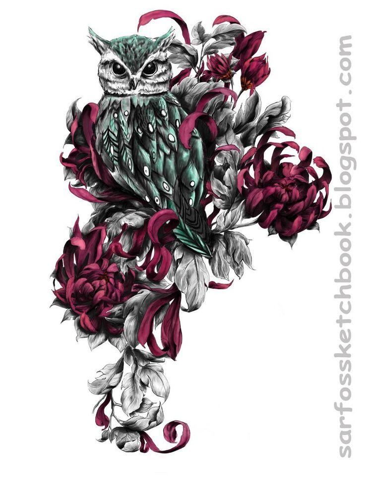 4b125fd6c4a3001974eacfb658d265b5 owl tattoo design tattoo owl