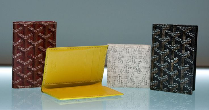 Goyard - Saint Pierre - Men's Wallet Design