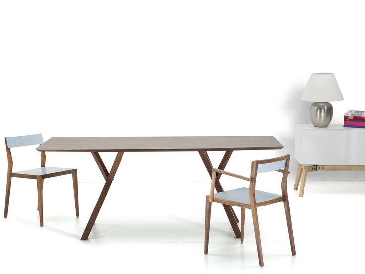 Matbord mörk valnöt - köksbord - matsalsbord - LISALA